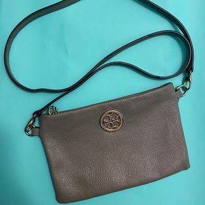 Tory Burch Grey Crossbody Handbag